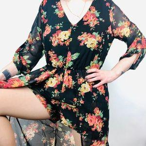 Other - Romper/Kimono Duo